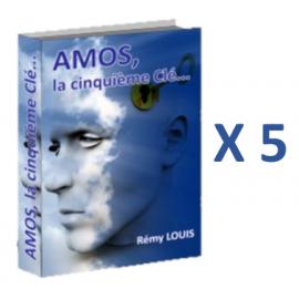"""Amos, la 5ème clé"" x5"
